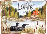 Certified International Lake Life Serving Platter