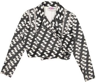 Jeremy Scott Black Cotton Jackets