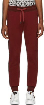Dolce & Gabbana Red Scuro Cargo Pants