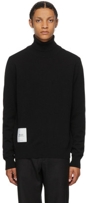 Maison Margiela Black Cashmere Gauge 12 Turtleneck