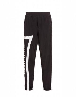 Moschino Nylon Jogging With Logo Man Black Size 46 It - (30 Us)