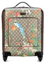 Gucci Leather-trimmed carry-on suitcase