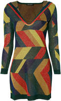 Twin-Set colour block dress