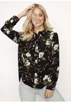 Girls On Film Floral Blouse