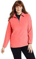 Columbia Women's Plus-Size Glacial Fleece III 1/2 Zip