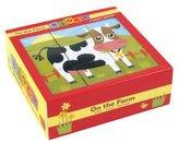 Mudpuppy On The Farm Block Puzzle Multi