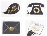 Rifle Paper Co. Foil 'Hello' Card Set - Assorted - 8 ct