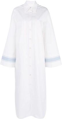Jil Sander Oversized Maxi Shirt
