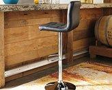 Signature Design by Ashley Adjustable Height Barstools Tall UPH Swivel Barstool(2/CN)