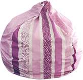 Lelbys Stripy Dot Bean Bag Cover, Pink Dot