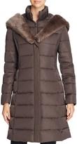 T Tahari Felicity Long Puffer Coat