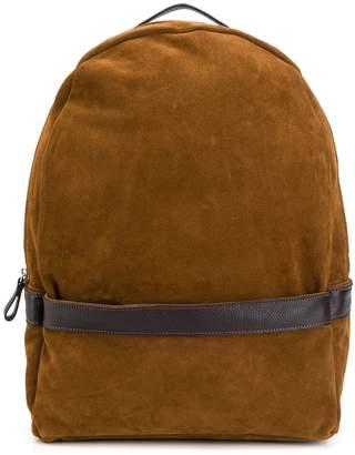 Eleventy suede backpack