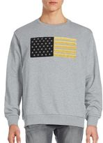 Palm Angels Heathered Cotton Pullover