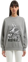 Kenzo Memento Printed Light Cotton Sweatshirt