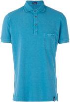 Drumohr chest pocket polo shirt