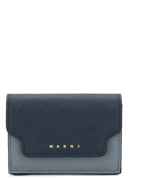 Marni mini tri-fold wallet