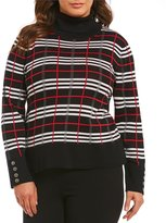 Investments Plus Long Sleeve Turtleneck Sweater