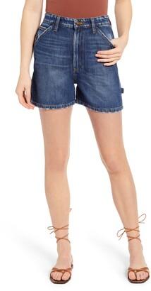 Lee High Waist Carpenter Shorts