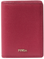 Furla Papermoon Leather Credit Card Case