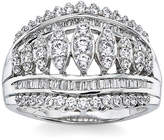 JCPenney FINE JEWELRY 1 CT. T.W. Diamond 10K White Gold Ring