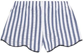 Il Gufo Striped cotton shorts