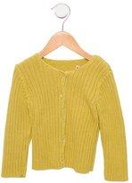 Bonpoint Girls' long Sleeve Knit Cardigan