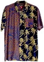 DOUBLE RAINBOUU Short Sleeve Hawaiian Shirt In Double Trouble