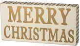"""Merry Christmas"" Wood Wall Art"