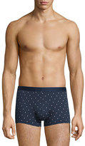 Derek Rose Sailboat-Print Hipster Boxer Briefs, Navy
