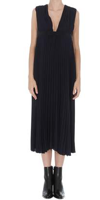 RED Valentino Georgette Pleated Dress