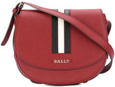 Bally Stripe detail saddle bag