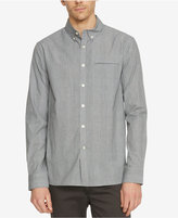 Kenneth Cole New York Men's Plaid Besom-Pocket Long-Sleeve Shirt