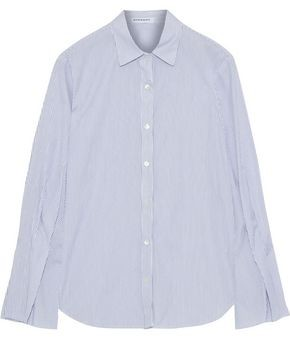 Stateside Fluted Striped Cotton-broadcloth Shirt