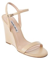 Charles David Queen Leather Wedge Sandal.