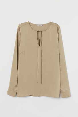 H&M Blouse with ties