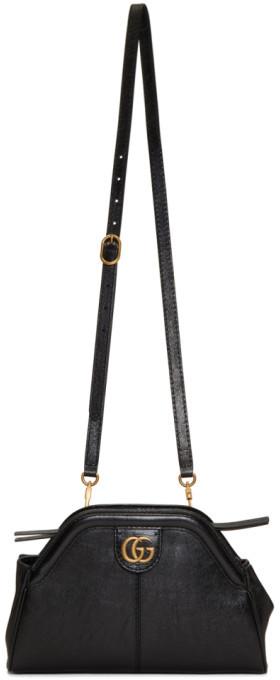 Black Small Linea Shoulder Bag by Gucci