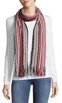 Missoni Patterned Wool Blend Scarf
