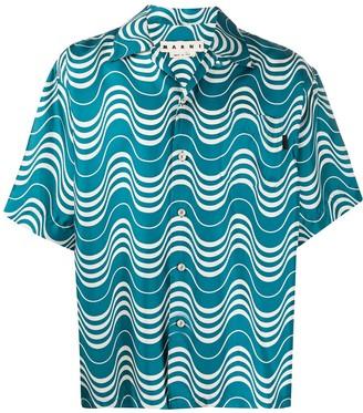 Marni Patterned Short Sleeve Shirt