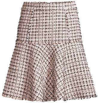 Elie Tahari Astrid Tweed Trumpet Skirt