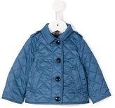 Burberry quilted field jacket - kids - Cotton/Polyester - 6 mth
