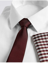 Limited Edition Checked Tie & Pocket Square Set