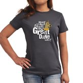 Eddany Leave me alone I'm only talking to my Great Dane Women T-Shirt