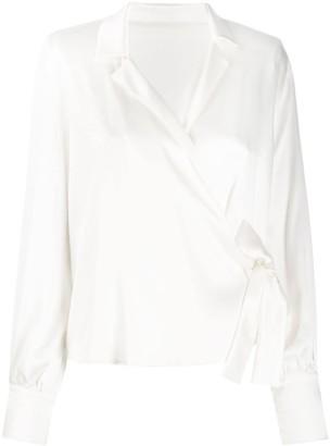 FEDERICA TOSI wrap style blouse