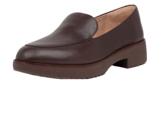 FitFlop Women's Talia Leather Loafers Women's Shoes