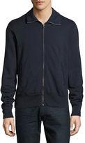 Save Khaki Supima Fleece Track Jacket