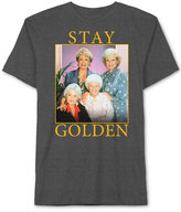 JEM Men's Big & Tall Golden Girls Stay Golden Graphic-Print T-Shirt
