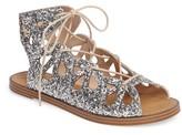 Sole Society Women's Lylia Glitter Sandal