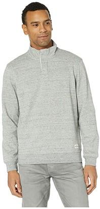Skechers Worthy Mock Neck (Gray) Men's Clothing