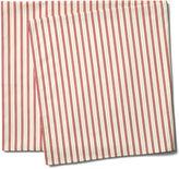 Maison Du Linge Stripe Tablecloth, Red/Ecru