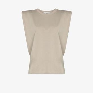 Frankie Shop Eva shoulder pad T-shirt